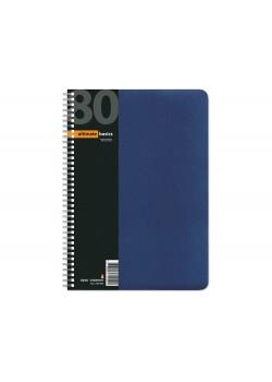 Бизнес - блокнот А4 (200 х 288 мм) Офис-Лайн 80 л., синий