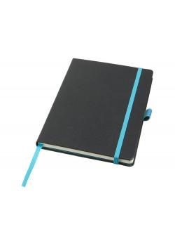Цветной блокнот Melya, черный