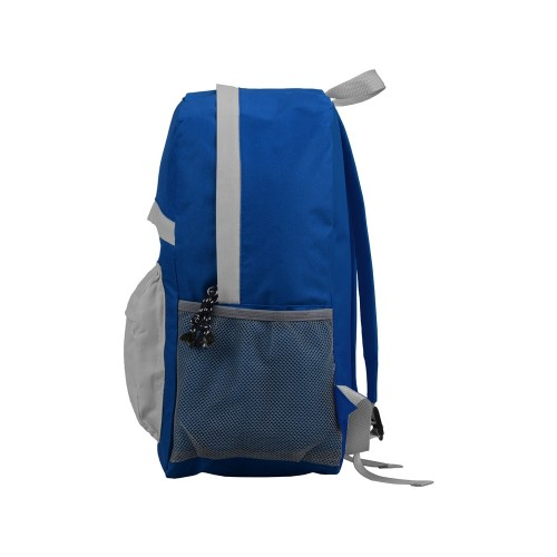 Рюкзак Универсальный (серая спинка), синий/серый