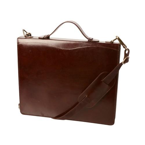 Папка-портфель Philip, коричневый