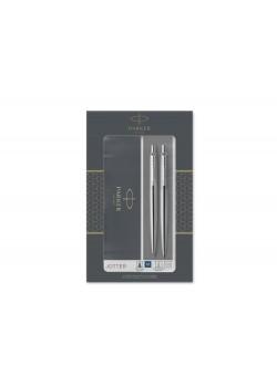 Набор Parker Jotter Core Stainless Steel CT ручка шариковая, карандаш механический