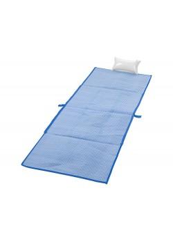 Пляжная складная сумка-тоут и коврик Bonbini, ярко-синий