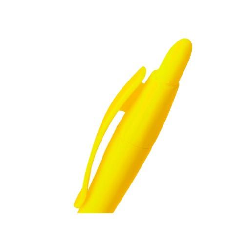 Ручка шариковая Celebrity Монро желтая