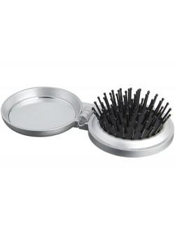 Складная щетка для волос, серый