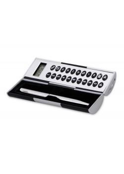 Калькулятор Октант, черный/серебристый