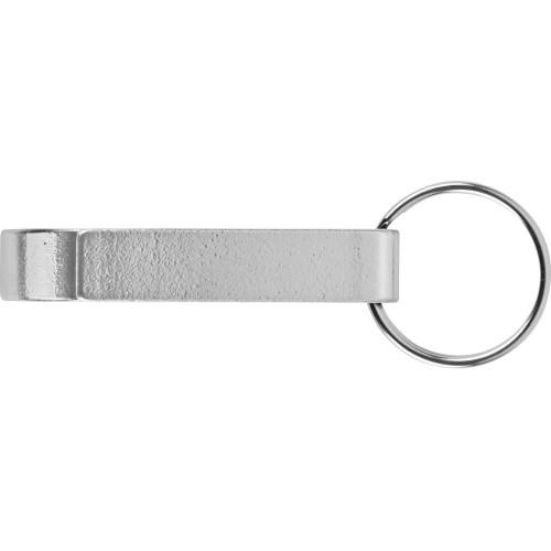 Брелок-открывалка Tao, серебристый