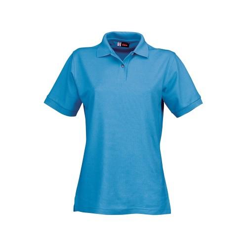 Рубашка поло Boston женская, голубой лед