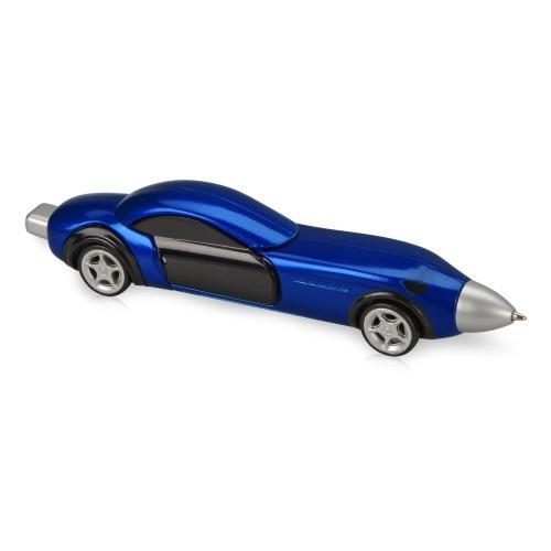 Ручка шариковая Сан-Марино в форме автомобиля с открывающимися дверями и инерционным механизмом движения, синяя