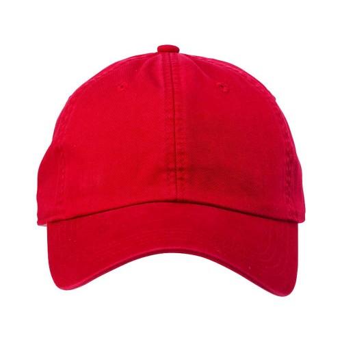 Бейсболка Verve 6-ти панельная, красный