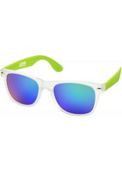 Солнцезащитные очки California, бесцветный полупрозрачный/лайм