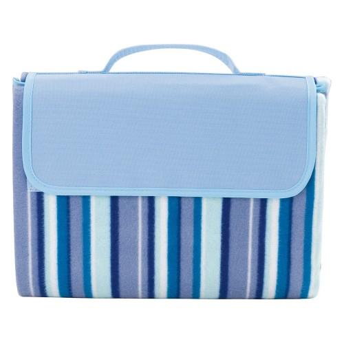 Плед для пикника с подкладкой Riviera, синий