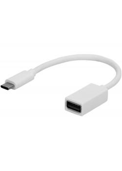 USB- адаптер Type-C, белый