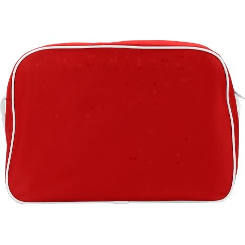 Сумка на плечо Sacramento, красный/белый
