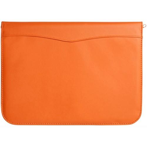 Папка A4 Ebony на молнии, оранжевый