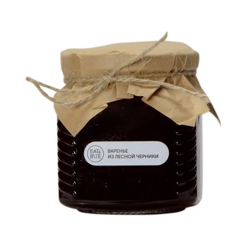 Варенье из лесной черники (квадратная банка), 325г
