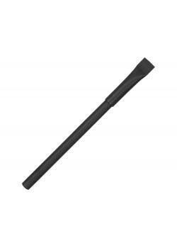 Ручка картонная с колпачком Recycled, черный