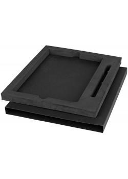 Подарочная коробка для блокнота А5 и ручки, черный