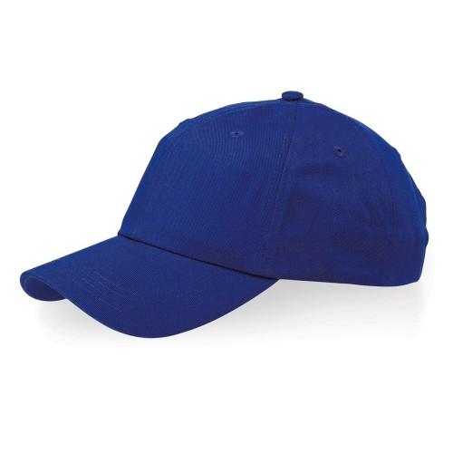 Бейсболка Apex 6-ти панельная, классический синий