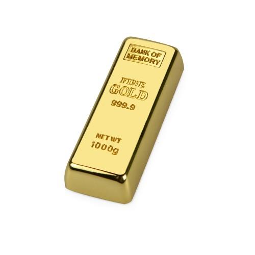 Флеш-карта Слиток золота USB 2.0 на 4 Gb