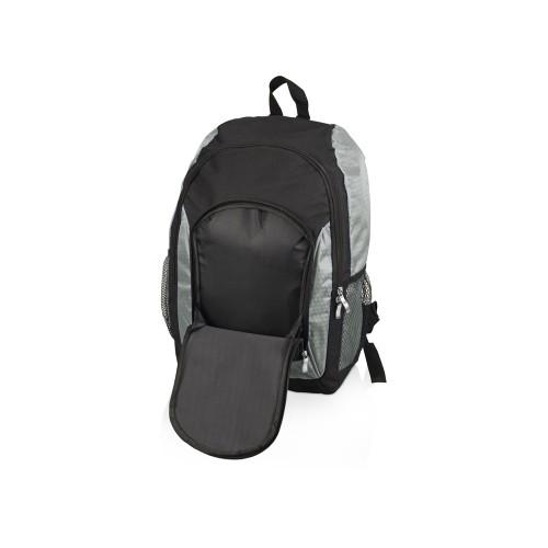 Рюкзак Орегон, черный/серебристый