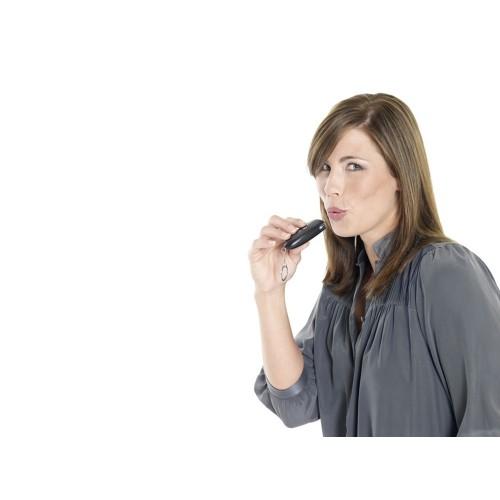 Алкотестер-брелок, черный