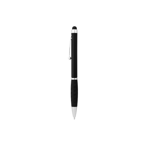 Ручка-стилус шариковая Ziggy черные чернила, черный