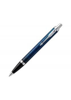 Ручка шариковая Parker IM SE Blue Origin, синий/серебристый
