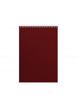 Бизнес - блокнот Альт А4 (198 х 285 мм) Office 60 л., бордовый