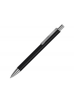 Металлическая автоматическая шариковая ручка Groove, черный
