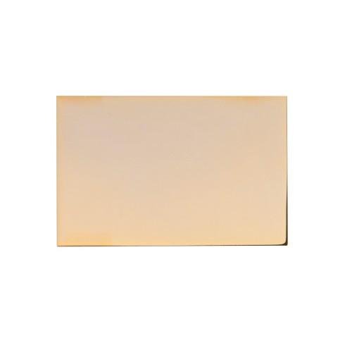 Часы Disk, коричневый/золотистый