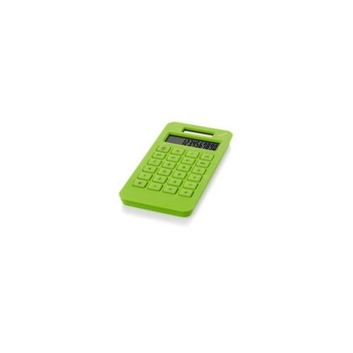 Калькулятор на солнечной батарее Summa, зеленое яблоко