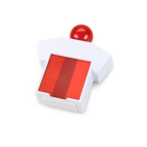 Подставка под скрепки и стикеры Office-boy, белый/красный