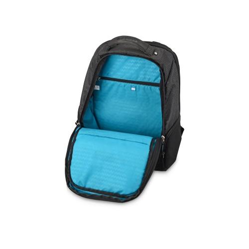 Рюкзак с отделением для ноутбука 15,4, черный/синий