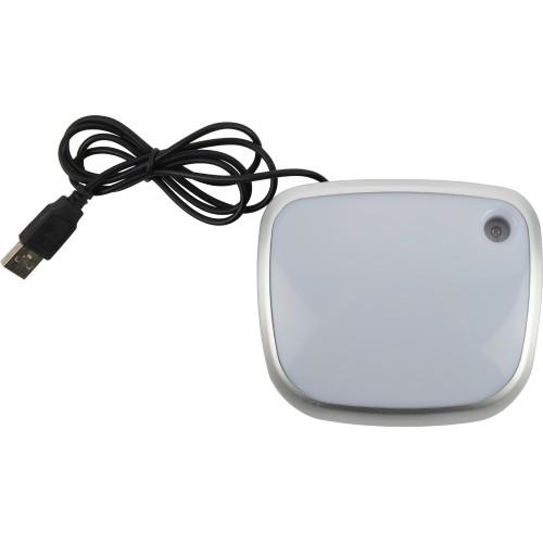 USB Hub на 3 порта с меняющей цвет подсветкой