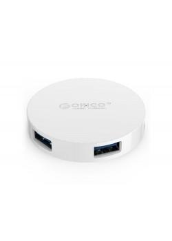 USB-концентратор Orico HA4U-U3 (белый)
