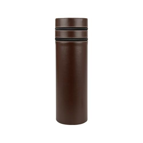 Тубус для вина Божоле, коричневый