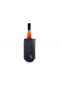Охладитель-чехол для бутылки вина или шампанского Cooling wrap, черный