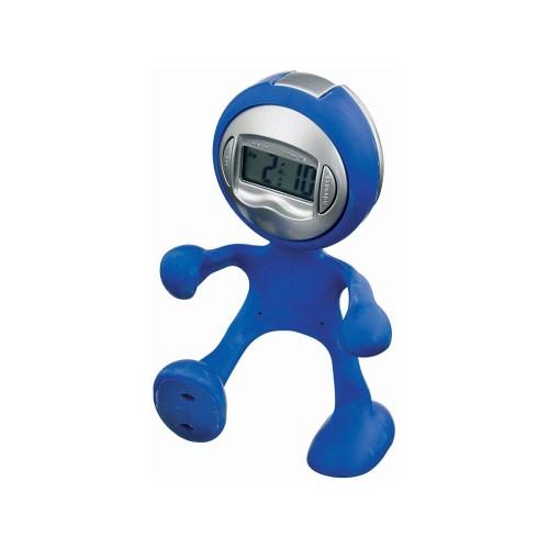 Часы настольные Flexi, темно-синий