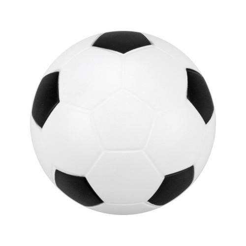 Антистресс Football, белый/черный