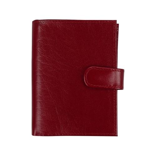 Бумажник для водительских документов, красный