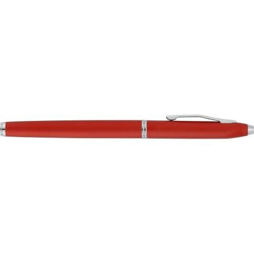 Набор Celebrity Экзюпери: ручка шариковая, ручка роллер в футляре красный