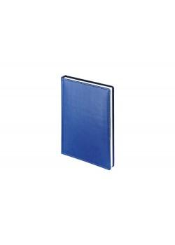 Ежедневник А5 датированный Velvet 2020, синий