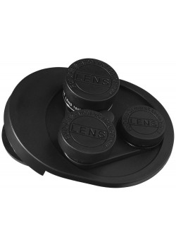 Набор линз для камеры 4 в 1, черный