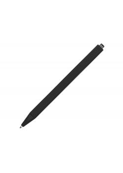 Ручка шариковая Pigra модель P01 PRR софт-тач, черный