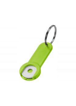 Брелок-держатель для монет Shoppy, лайм