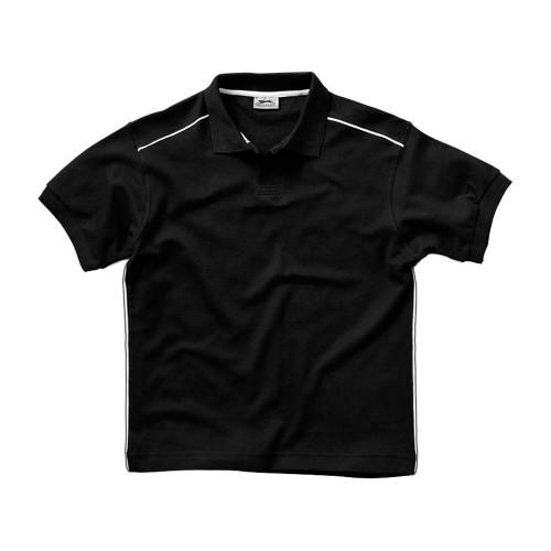 Рубашка поло Backhand мужская, черный/белый