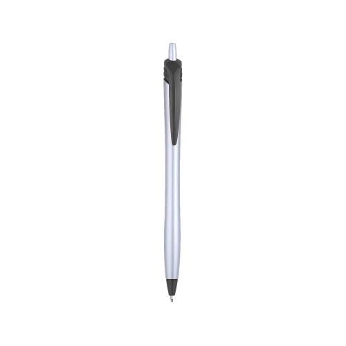 Ручка шариковая Аляска, серебристый/черный