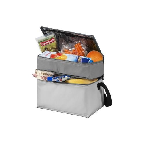 Сумка-холодильник Trias, темно-серый/серый/светло-серый