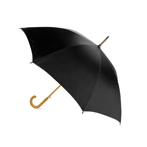 Зонт-трость Радуга, черный