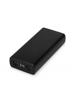Портативное зарядное устройство PowerMax, 20000 mAh, PD + QC 3.0, черный